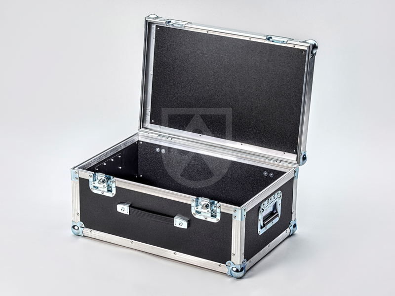Plastic flight case made of Foamlite® flight case panels / flight case boards