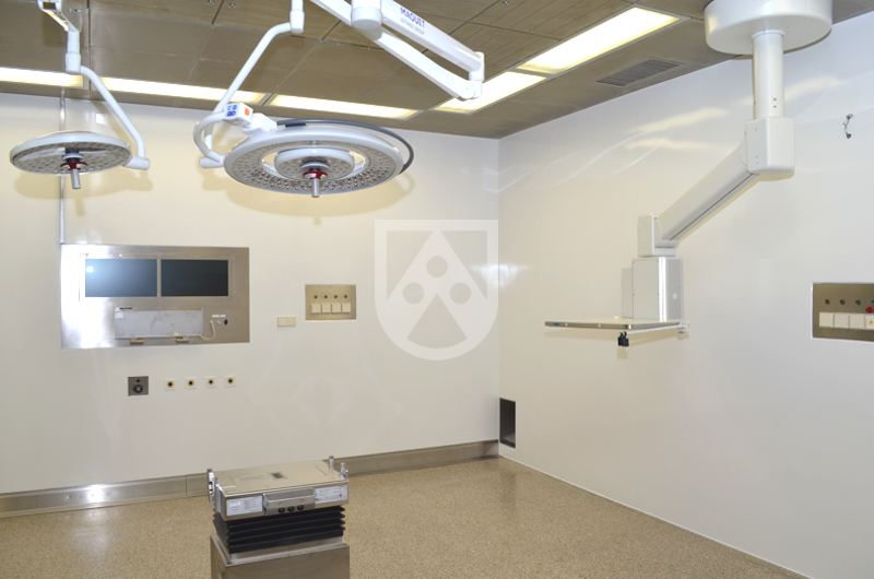 Hygienic wall panels / hygienic wall cladding sheets in a hospital made of TroBloc® M