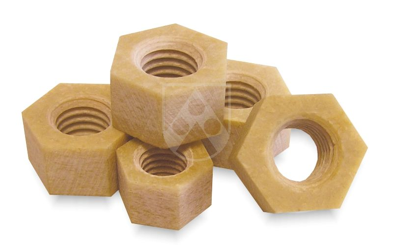 Durostone® hexagonal frp nuts