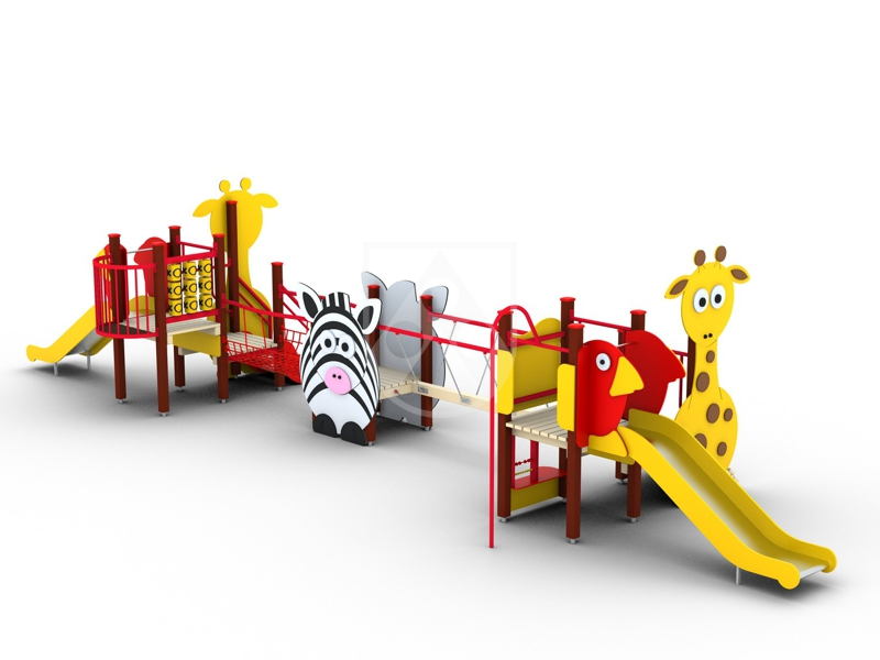 Long service life: Our playground material Play-Tec® withstand rain, sun, wind and dirt