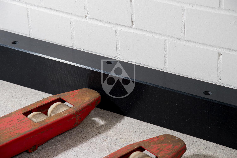Wandschutz Rammschutzleisten aus Kunststoff Robuster
